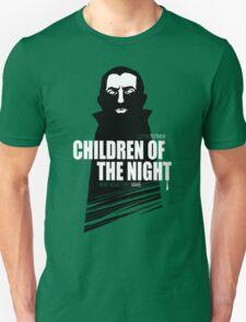 Children of the Night Walk Home Alone... At Night. Unisex T-Shirt