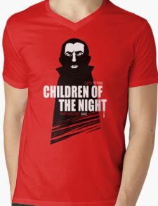 Children of the Night Walk Home Alone... At Night. Mens V-Neck T-Shirt