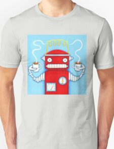 Welcome to the Robo Cafe Unisex T-Shirt