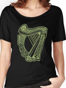 Celtic Harp Women's Relaxed Fit T-Shirt