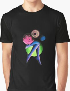 Girl In Space Graphic T-Shirt