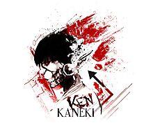 Kaneki Ken Tokyo Ghoul Photographic Print