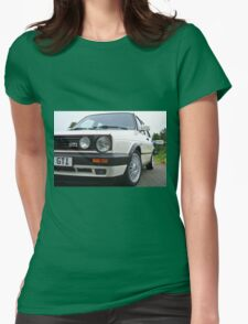 VW Golf GTI Womens Fitted T-Shirt