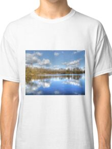 Lake Reflections HDR Classic T-Shirt