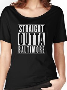 The wire - Baltimore Women's Relaxed Fit T-Shirt