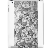 Infinite reality, 2015, 20-50cm, ink on paper iPad Case/Skin