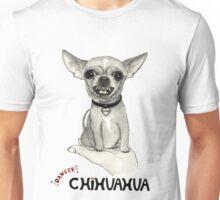 Danger, chihuahua. Unisex T-Shirt
