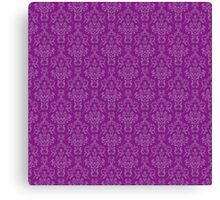 Purple Artwork Canvas Print