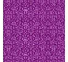 Purple Artwork Photographic Print