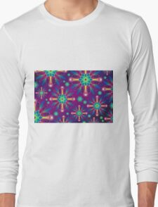 Colorful Artwork Long Sleeve T-Shirt