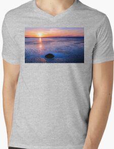 Romancing The Stone Mens V-Neck T-Shirt