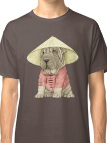 Shar Pei on The Great Wall Classic T-Shirt