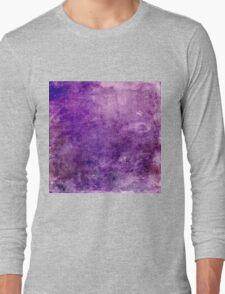 Purple Design Long Sleeve T-Shirt