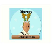 Murray Christmas Art Print