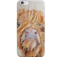 Cheeky Highlander! iPhone Case/Skin