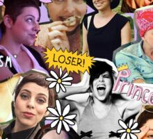 Krysta Rodriguez Collage Sticker