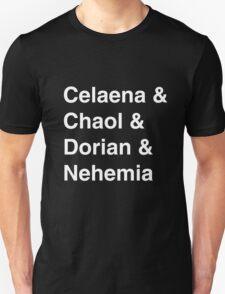 Celaena & Chaol & Dorian & Nehemia T-Shirt