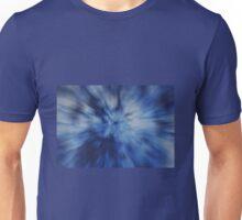 Blue Radial Zoom Unisex T-Shirt
