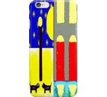 DOGS IN THE MOONLIGHT iPhone Case/Skin