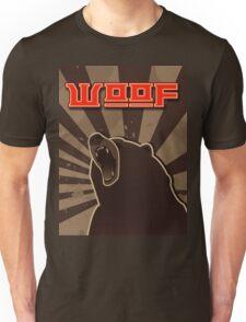 woof. Russian bear. Unisex T-Shirt