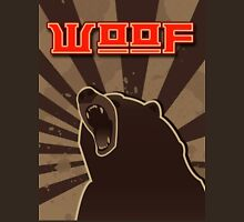 woof. Russian bear. Unisex T-Shirt