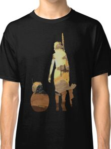 STAR WARS VII- BB8 and Rey Classic T-Shirt