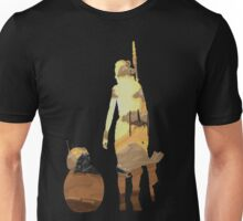 STAR WARS VII- BB8 and Rey Unisex T-Shirt
