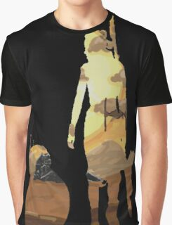 STAR WARS VII- BB8 and Rey Graphic T-Shirt