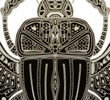 Sacred scarab Sticker