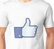 Facebook Like Logo Unisex T-Shirt