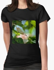 Dogwood in Spring Womens Fitted T-Shirt