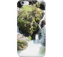 Rapids Rushing Over Rocks iPhone Case/Skin