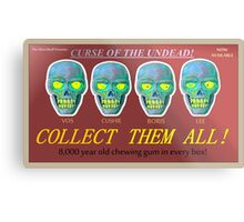 Curse of the Undead Promotional Metal Print