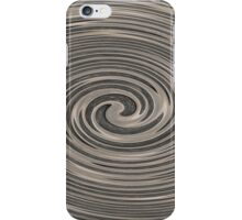 Black Twirl iPhone Case/Skin