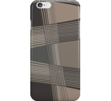 Black Grey   iPhone Case/Skin
