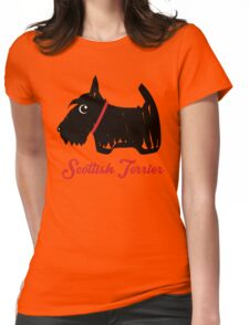 Scottish Terrier  Womens Fitted T-Shirt