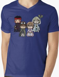 Tsubasa Reservoir Chronicle chibi Mens V-Neck T-Shirt