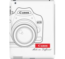 Canon Make Me Different iPad Case/Skin