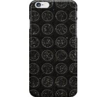 Black Circles iPhone Case/Skin