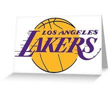 Los Angels Lakers- Logo Greeting Card