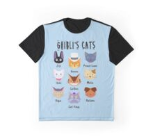 Meowyazaki Graphic T-Shirt