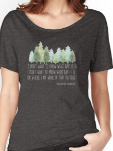 Into the Wild with Christopher McCandless Women's Relaxed Fit T-Shirt