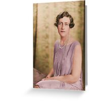 Agatha Christie - 1920s Greeting Card
