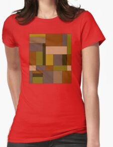 Abstract #370 Womens Fitted T-Shirt