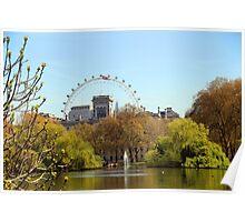 St James's Park London Poster