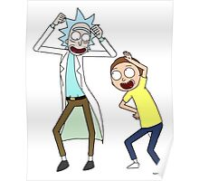 COME ON RICK n MORTY Poster