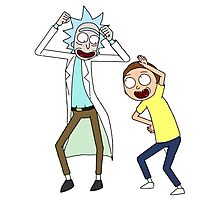 COME ON RICK n MORTY Photographic Print