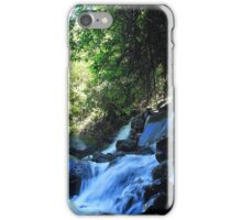 Waterfall Rocks and a River iPhone Case/Skin
