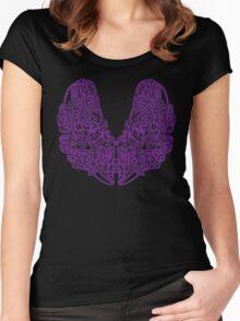 Purple Kush Women's Fitted Scoop T-Shirt