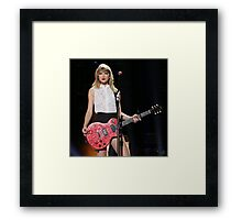 Taylor Swift Red Tour Framed Print
